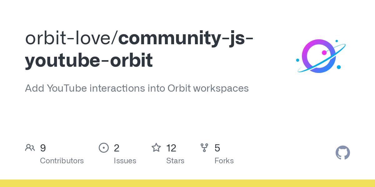 orbit-love/community-js-youtube-orbit
