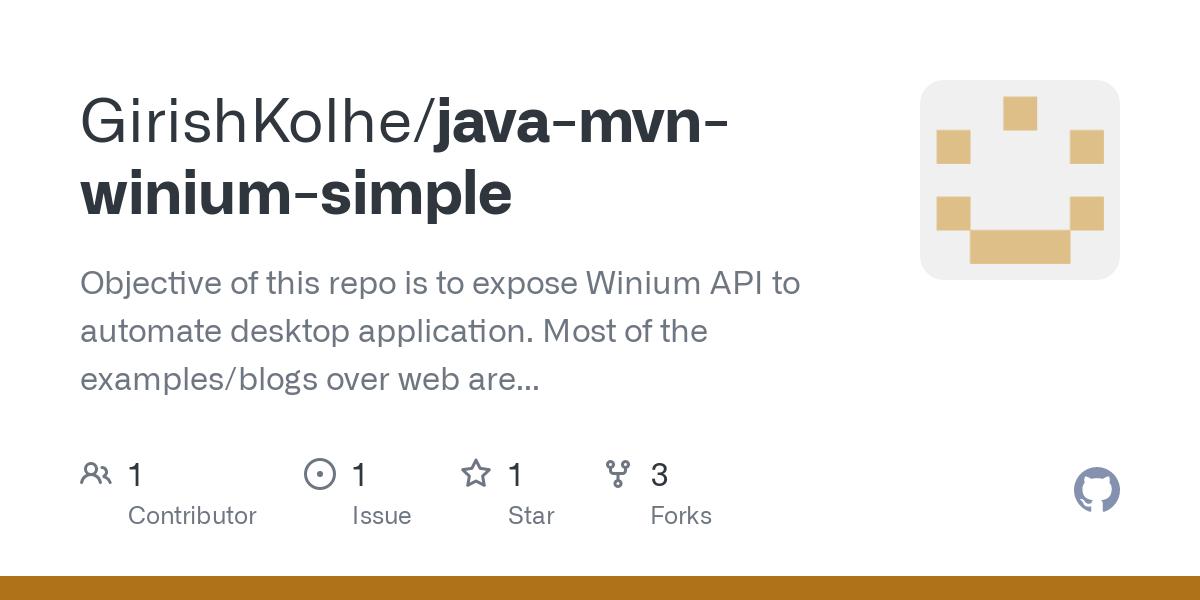 Java documentation winium dezidonnelly.comtus Examples
