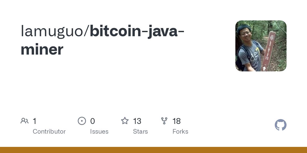 java bitcoin miner