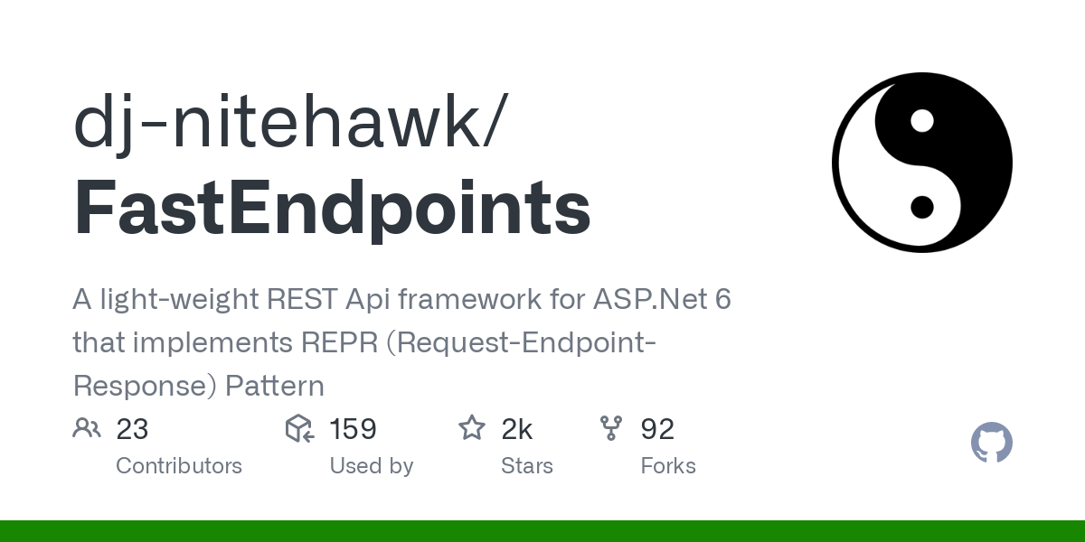 An easy to use Web-Api framework (which encourages CQRS and Vertical Slice Architecture) built as an extension to the Asp.Net pipeline. Performance is