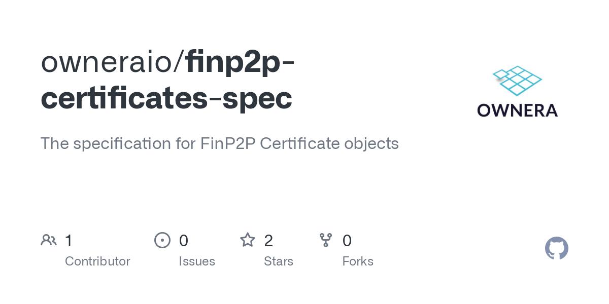 owneraio/finp2p-certificates-spec