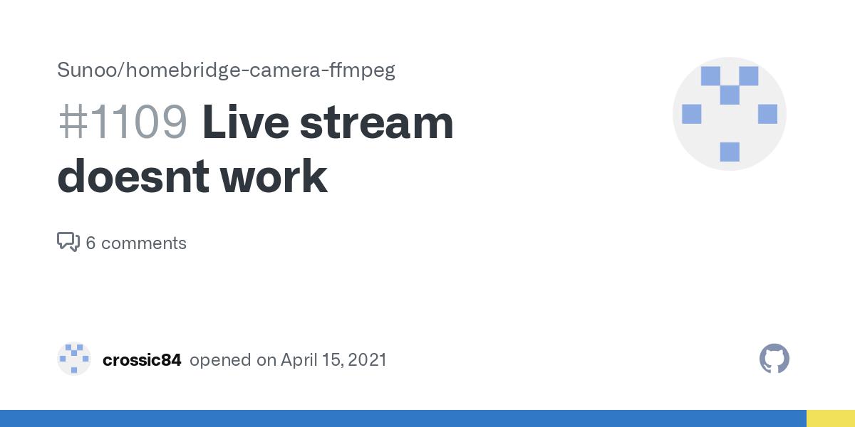 Work doesnt live stream Facebook Live