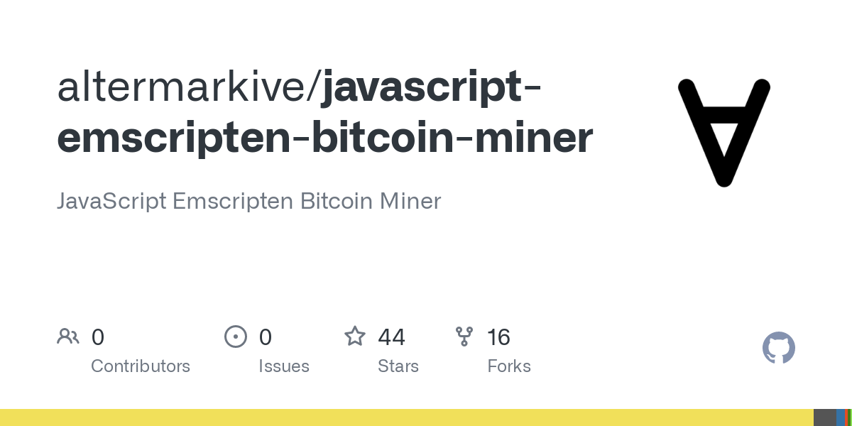 javascript bitcoin miner)