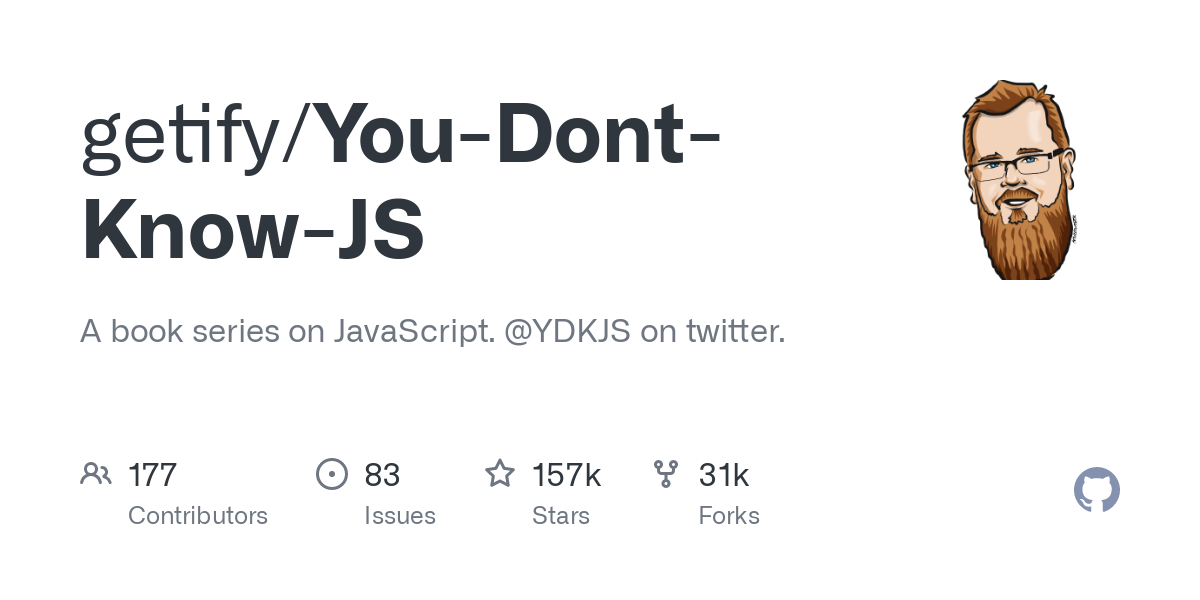 getify/You-Dont-Know-JS