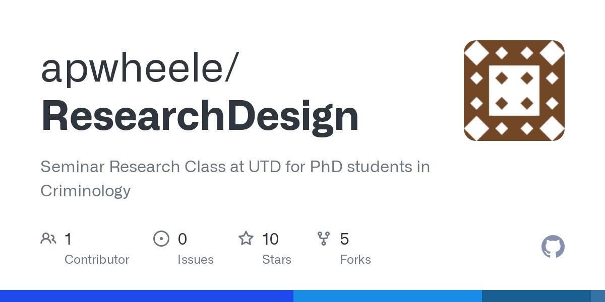 apwheele/ResearchDesign