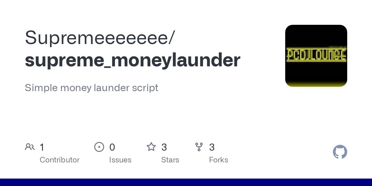 supreme moneylaunder
