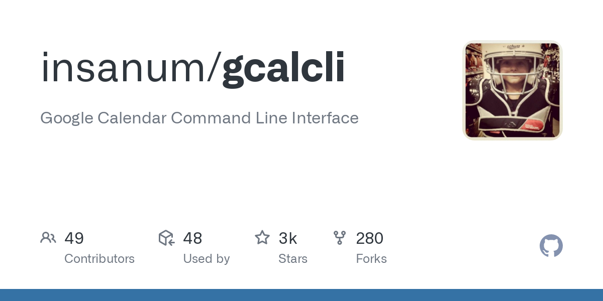 GitHub - insanum/gcalcli: Google Calendar Command Line Interface