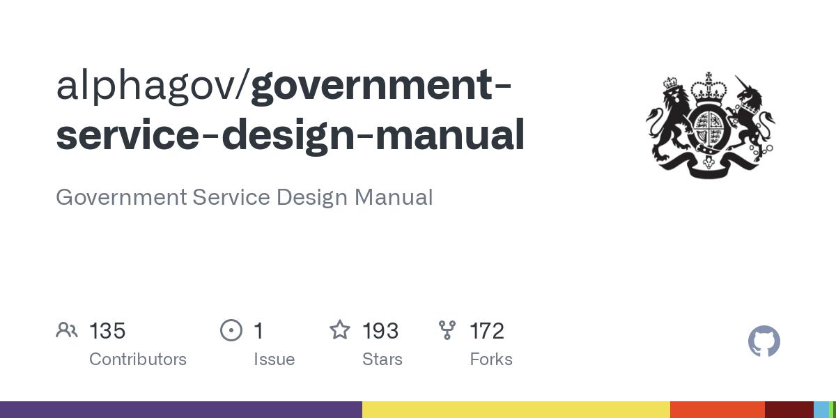 Progressive enhancement in the Government Service Design manual