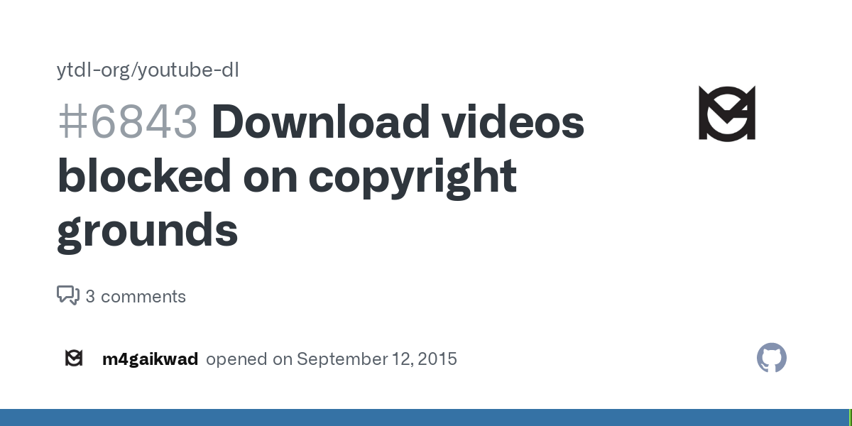Is there a way to watch youtube videos that are blocked on copyright grounds
