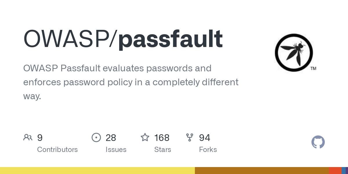 Passfault Itlongtail Txt At Master Owasp Passfault Github