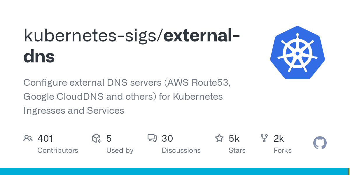 kubernetes-sigs/external-dns