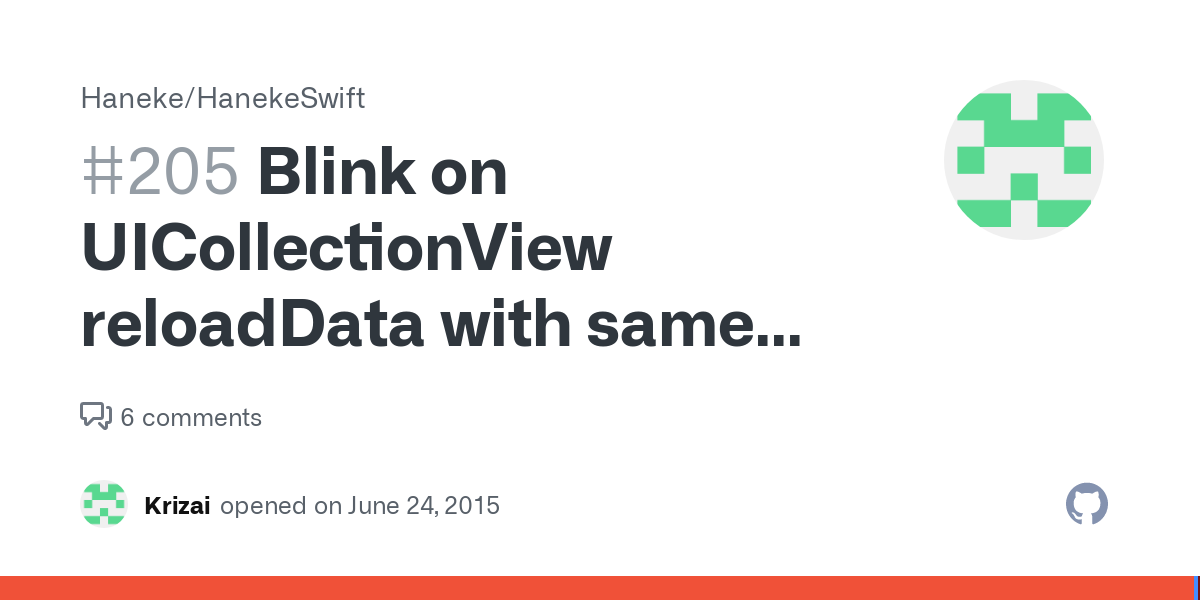 Reloaddata blink uicollectionview Reload a