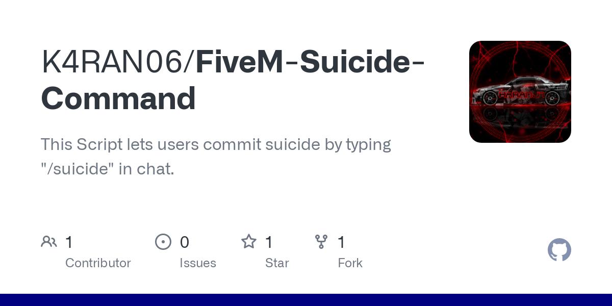 FiveM Suicide Command