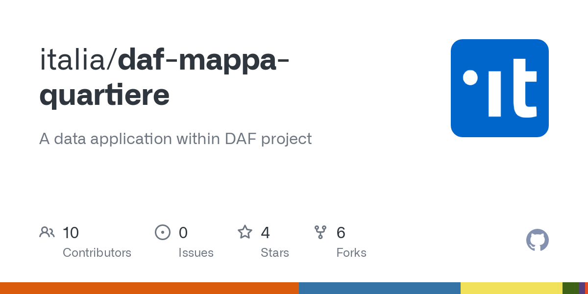 Cartina Italia Javascript.Github Italia Daf Mappa Quartiere A Data Application Within Daf Project