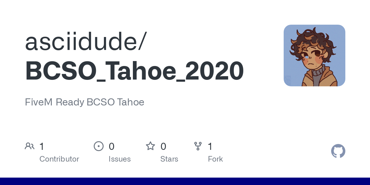 BCSO Tahoe 2020