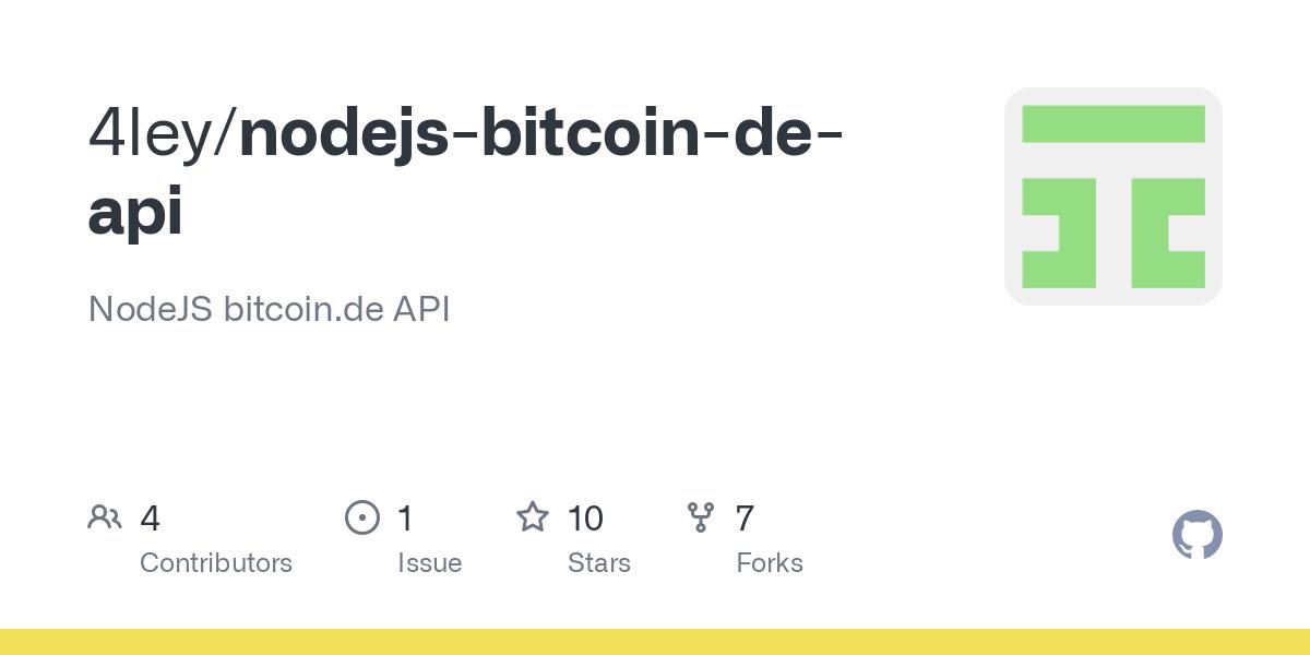 nodejs bitcoin