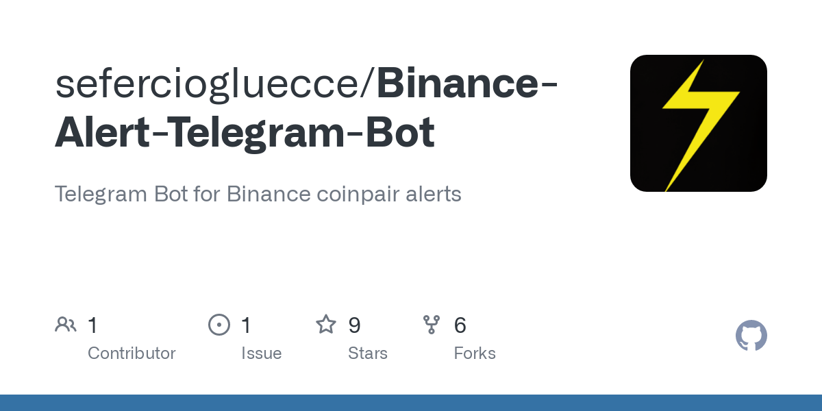 bot telegram binance