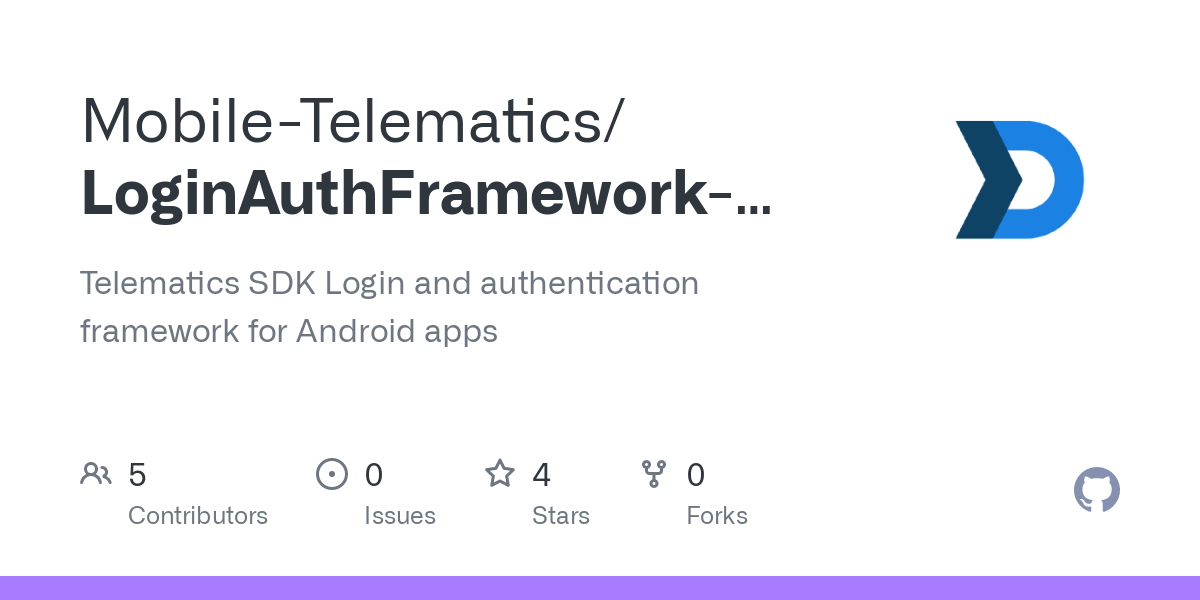 Mobile-Telematics/LoginAuthFramework-Android