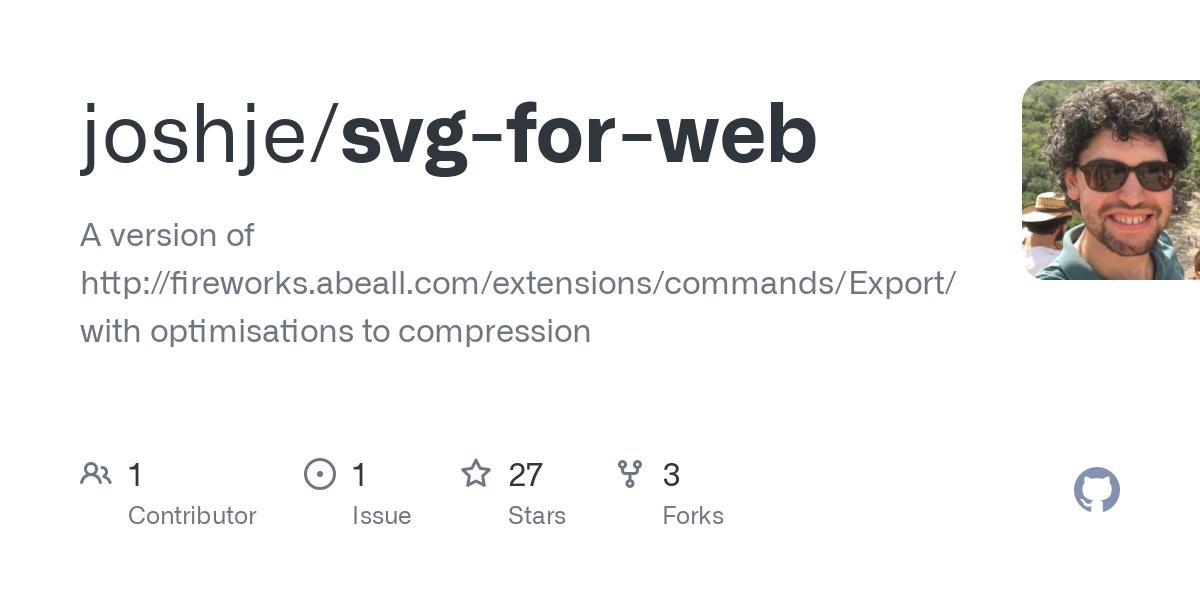 joshje/svg-for-web · GitHub