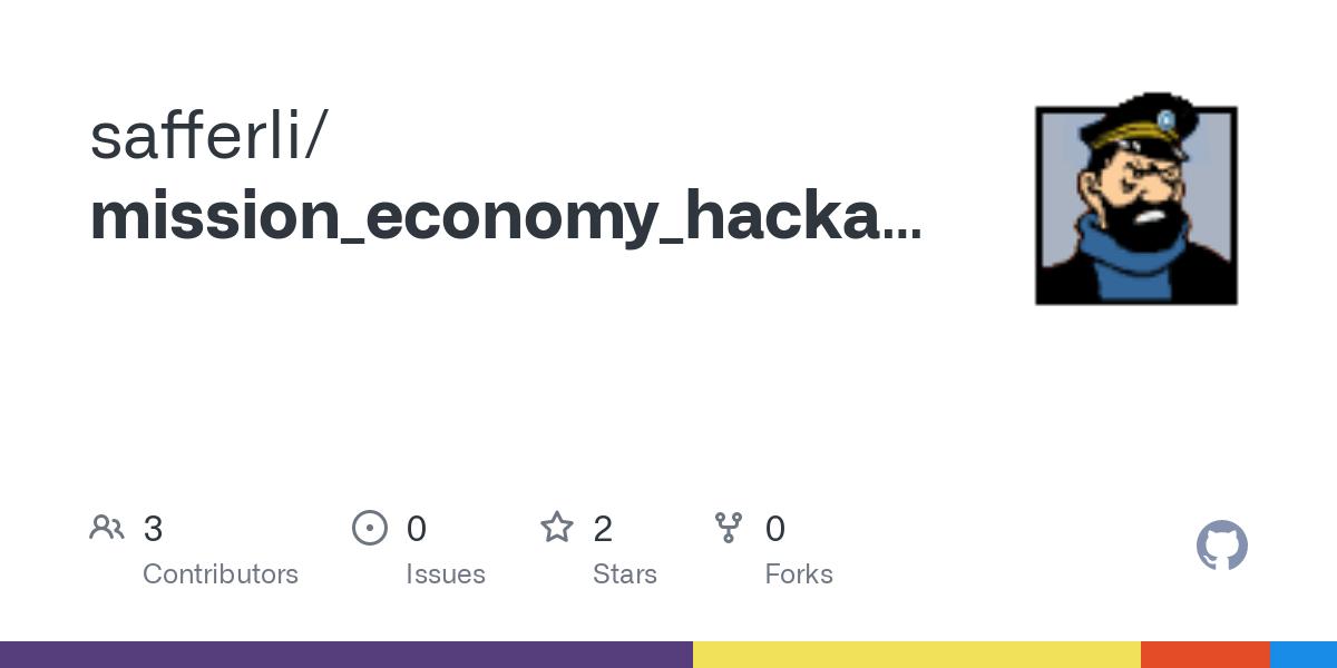 mission economy hackathon2016