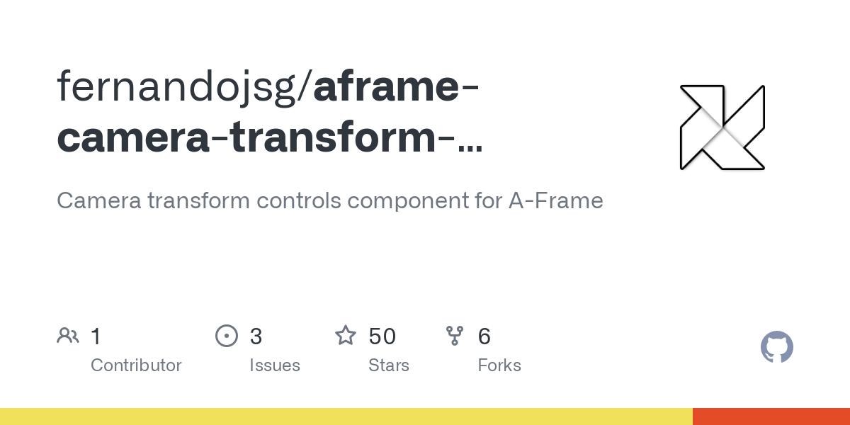 fernandojsg/aframe-camera-transform-controls-component