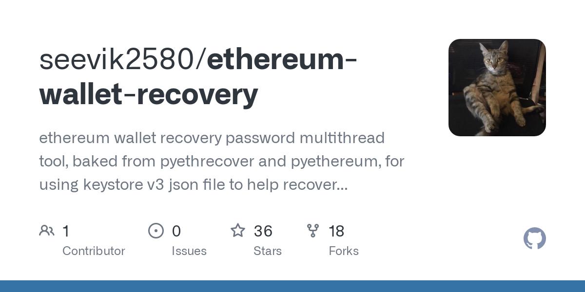 Etheeum Keystore Password Recovery