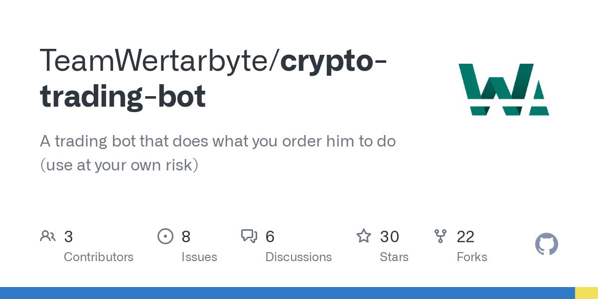 bitcoin bot github)