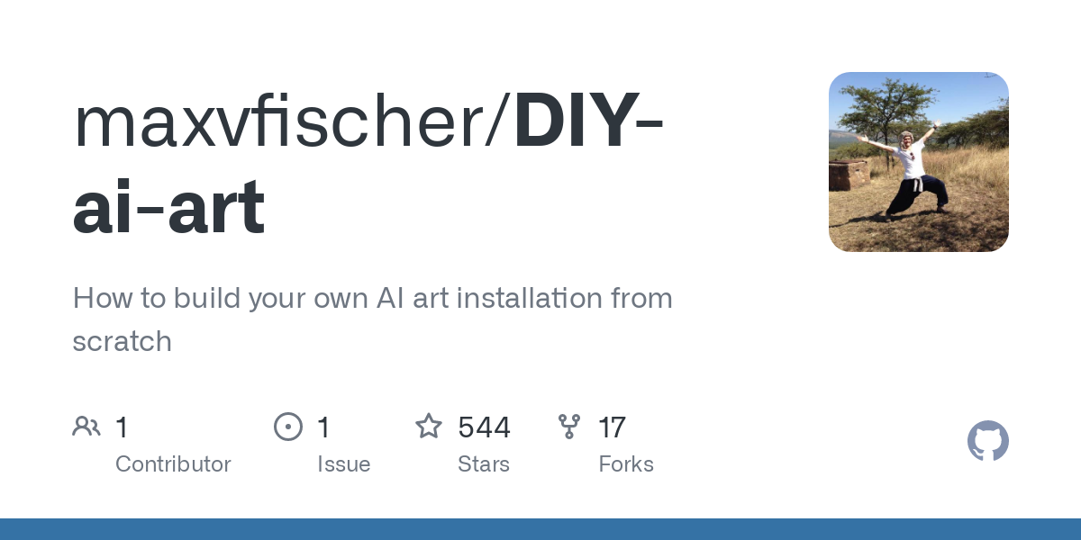 This guide goes through all the steps to build your own AI art installation, using a button to change the AI artwork displayed on a screen. The main c