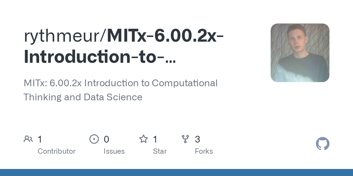 Mitx 6 00 2x Introduction To Computational Thinking And Data Science Words Txt At Master Rythmeur Mitx 6 00 2x Introduction To Computational Thinking And Data Science Github