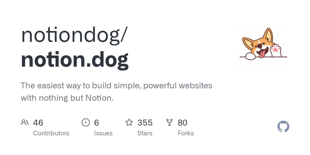 Notion Dog