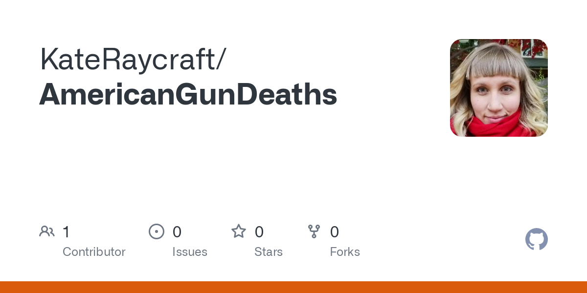 KateRaycraft/AmericanGunDeaths