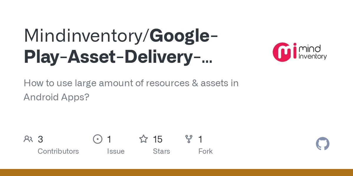 Mindinventory/Google-Play-Asset-Delivery-Sample