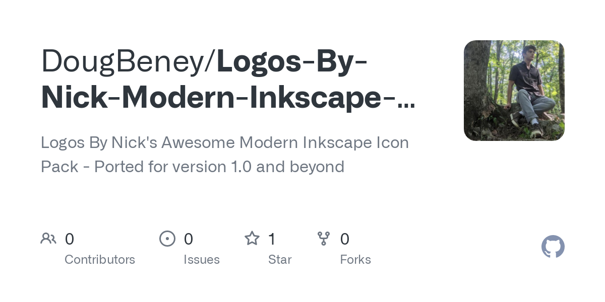 Github Dougbeney Logos By Nick Modern Inkscape Icons Logos By Nick S Awesome Modern Inkscape Icon Pack Ported For Version 1 0 And Beyond