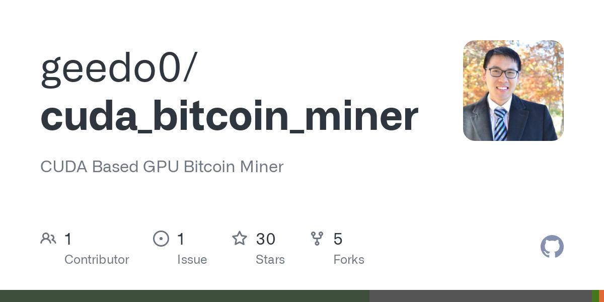 cuda bitcoin