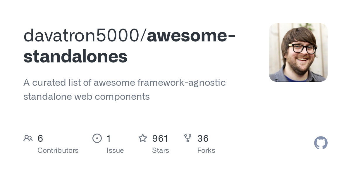 davatron5000/awesome-standalones