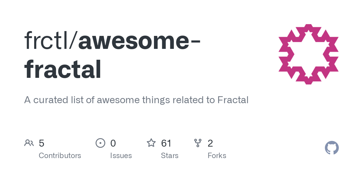 GitHub - frctl/awesome-fractal: A curated list of awesome things related to Fractal