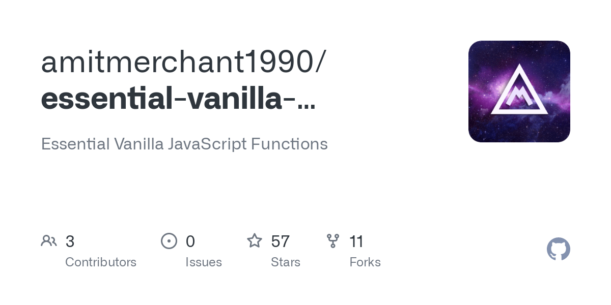 Essential Vanilla JavaScript Functions