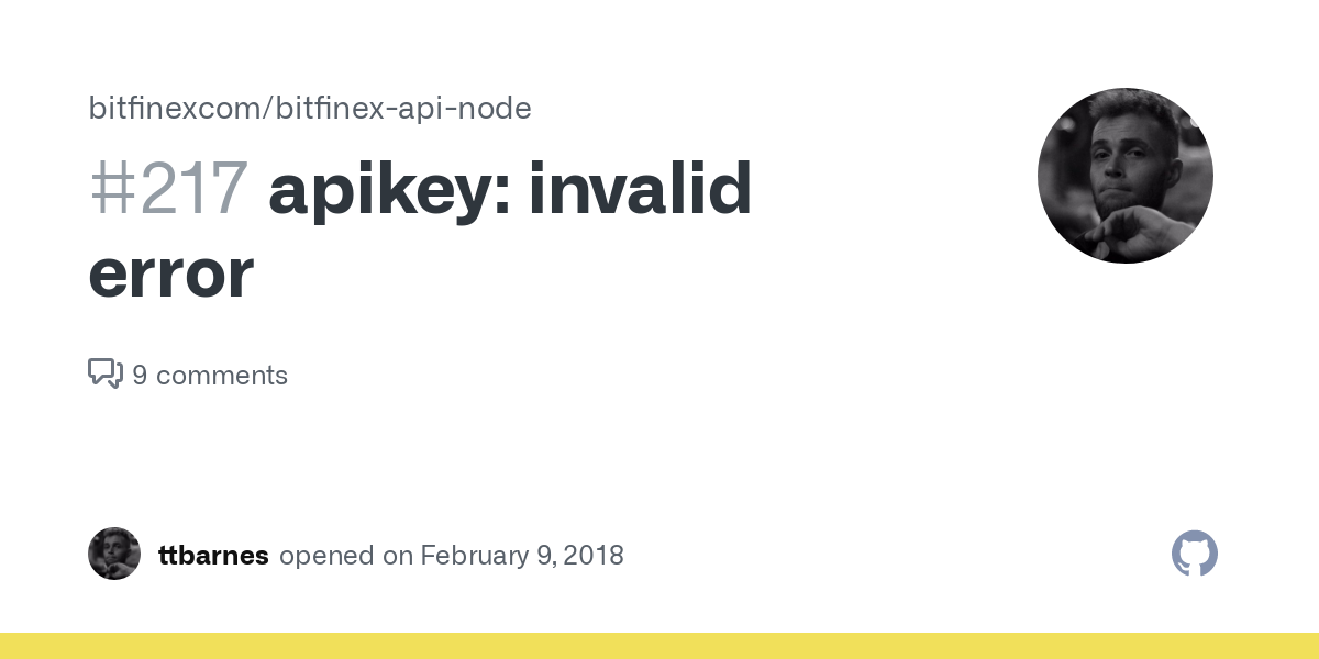 bitfinex api key invalid fx swaps trading