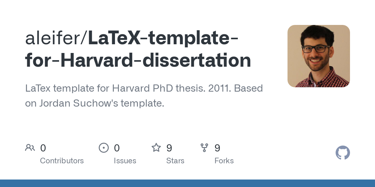 Harvard thesis latex help with my best admission essay on trump