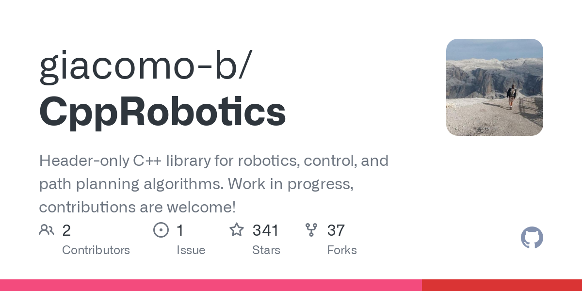 This repo is inspired by AtsushiSakai/PythonRobotics. Instead of being just educational, this repo focuses on runtime speed and modularity. The exampl