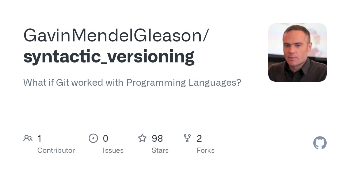 Well, the title is deliberately provocative, but I genuinely mean it, and it's not wrong: Git does not work with programming languages. Instead it wor