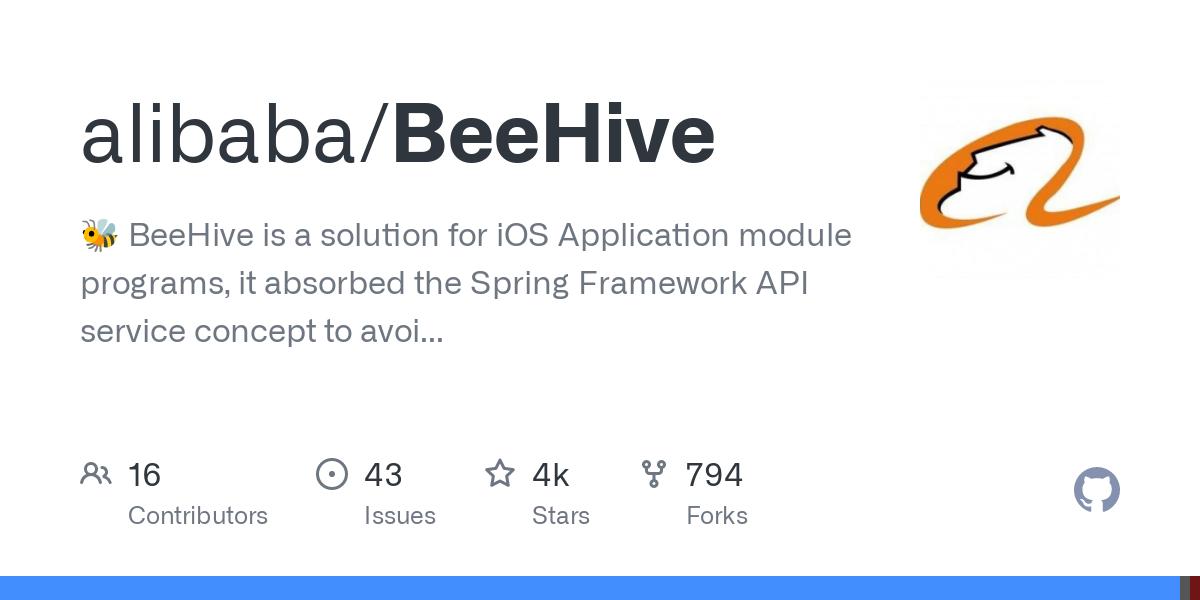 alibaba/BeeHive