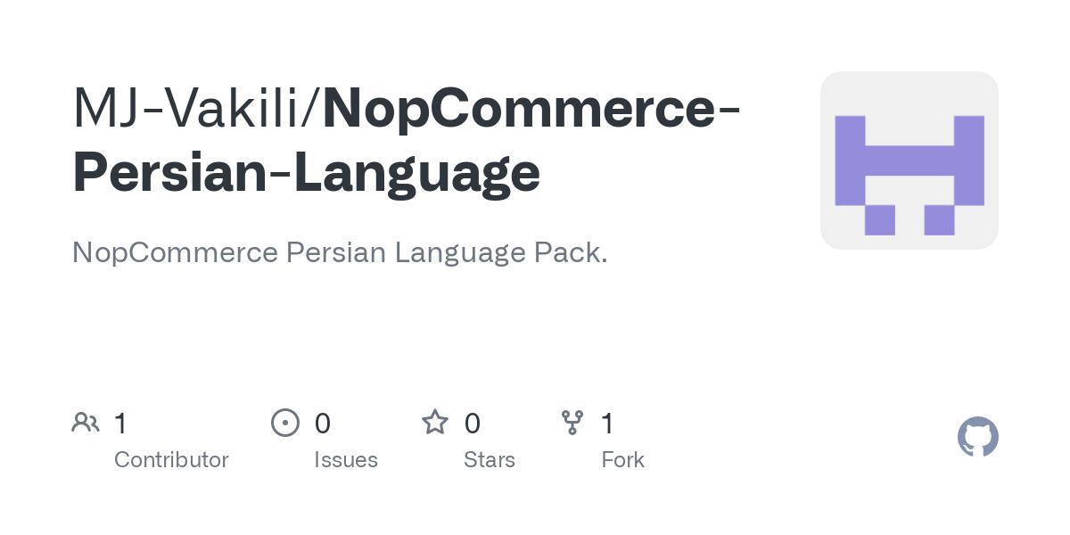 Nopcommerce Persian Language Defaultresources Nopres Xml At Master Mj Vakili Nopcommerce Persian Language Github