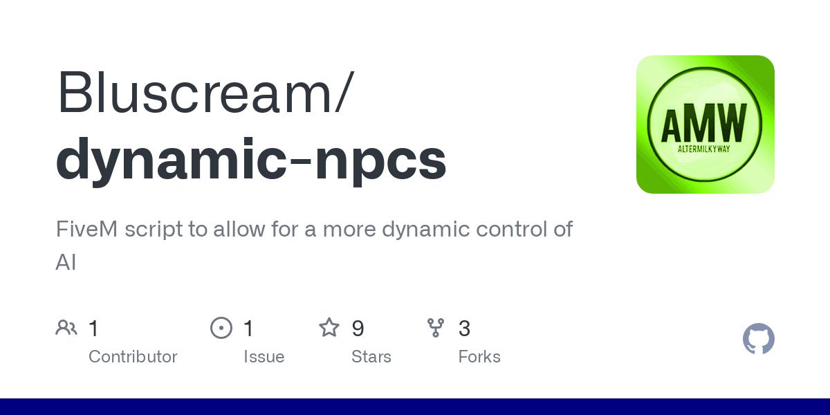 dynamic npcs