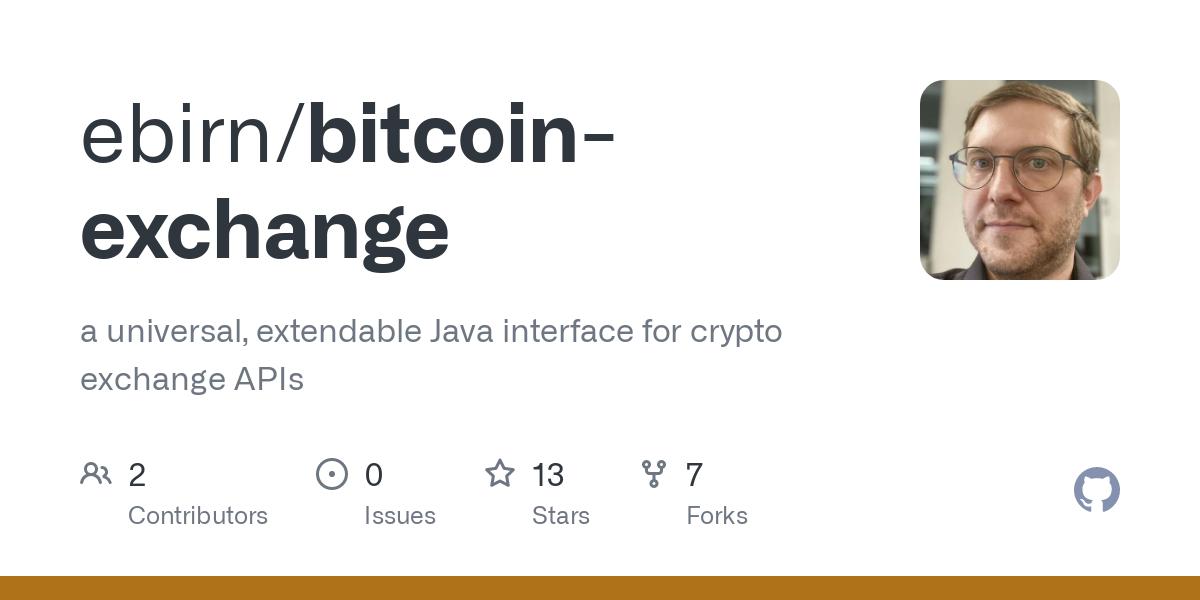 bitcoin exchange github)