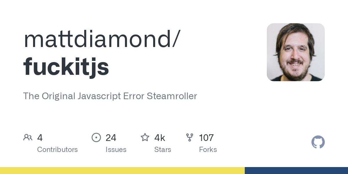 mattdiamond/fuckitjs