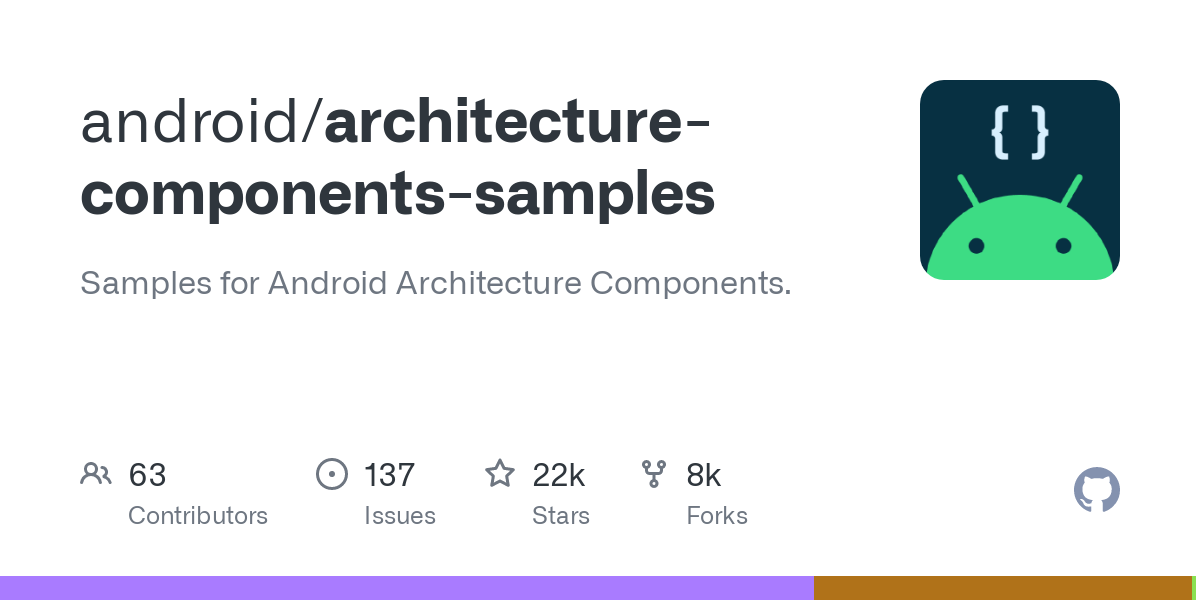 android/architecture-components-samples