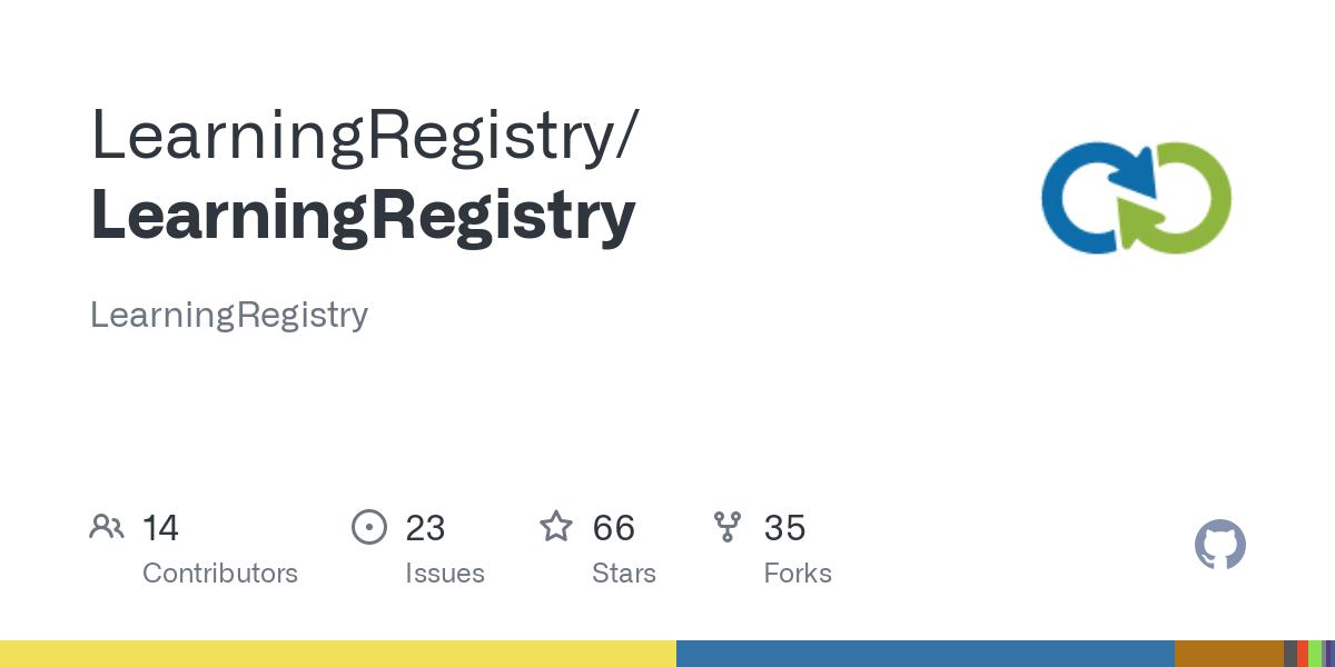 GitHub - LearningRegistry/LearningRegistry: LearningRegistry