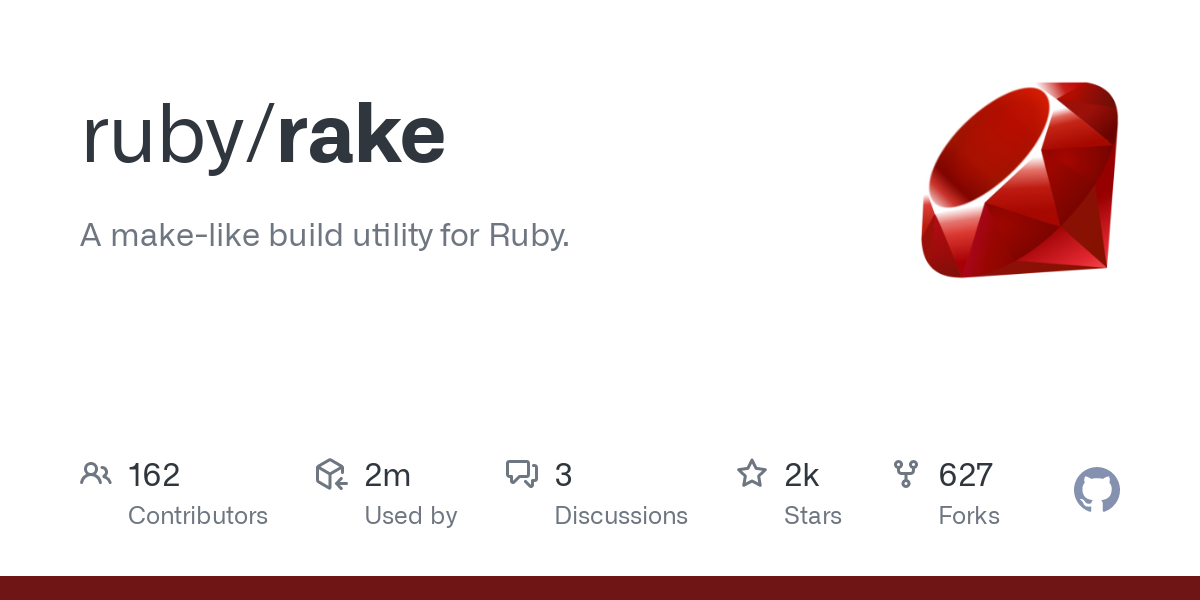 Rakefiles (rake's version of Makefiles) are completely defined in standard Ruby syntax.  No XML files to edit.  No quirky Makefile syntax to worry abo