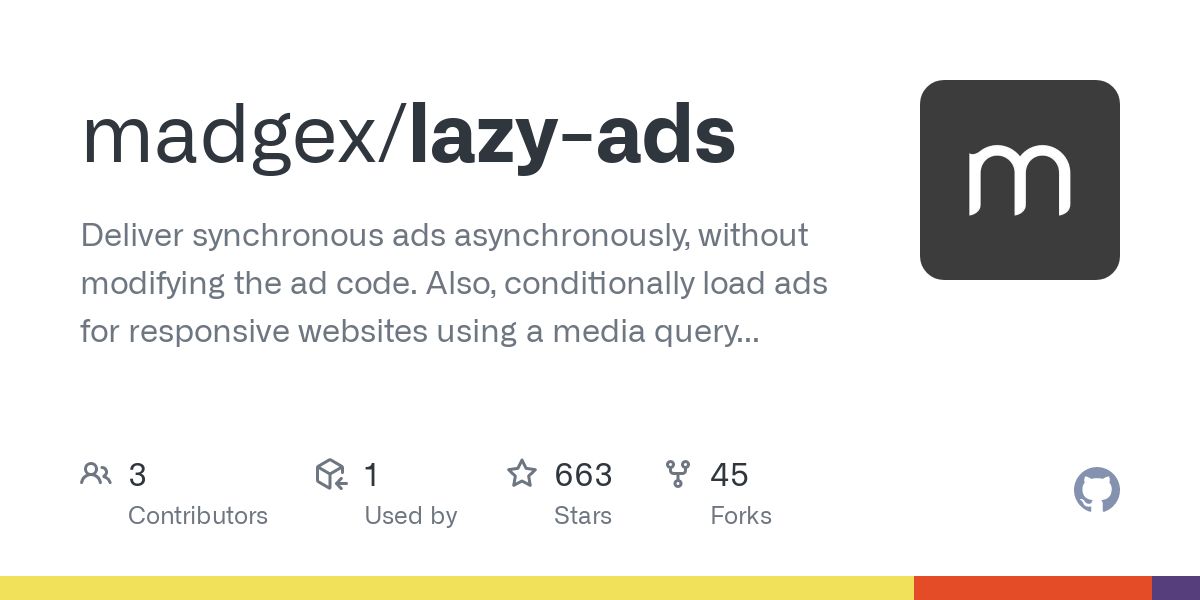 madgex/lazy-ads